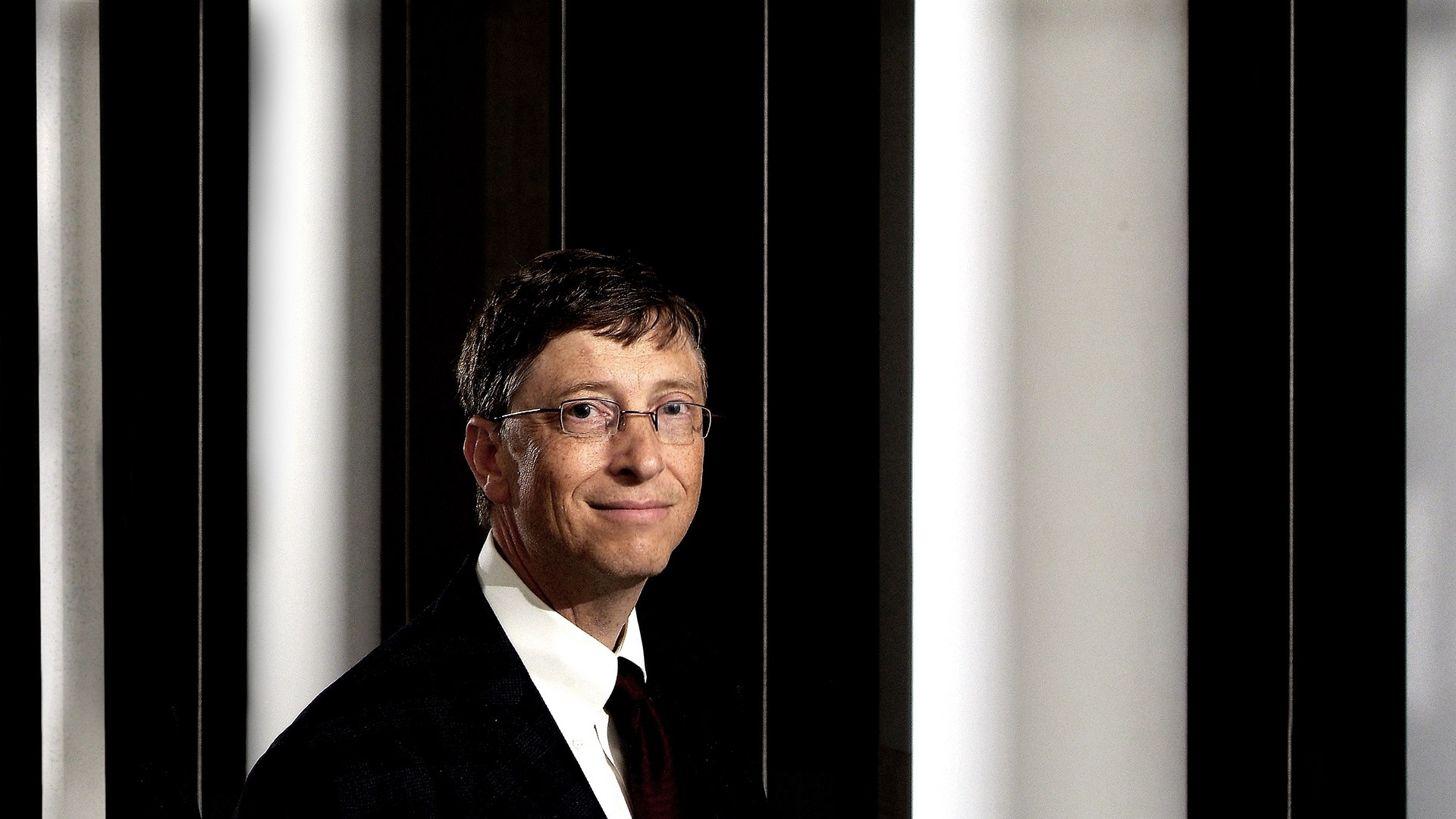 JohnnyMillar_Photography_Commercial_Portrait_Bill Gates at the British Library Autumn 2006